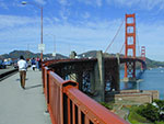 Golden Gate Bridge walk